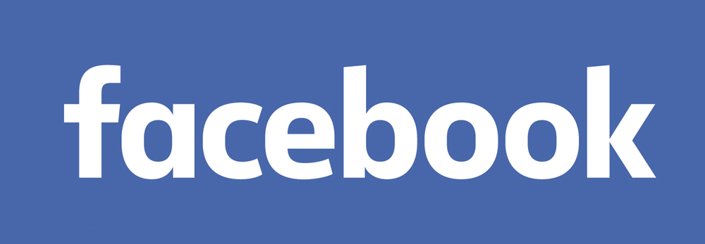 """""""comparison between the old and the new Facebook logo"""""""