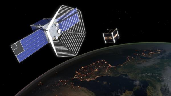 """clean space one satellite"""
