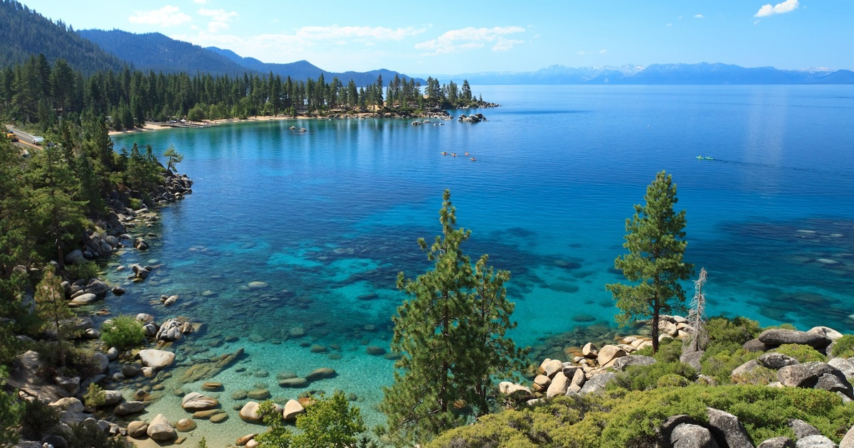 The Big Beautiful And Blue Of Lake Tahoe