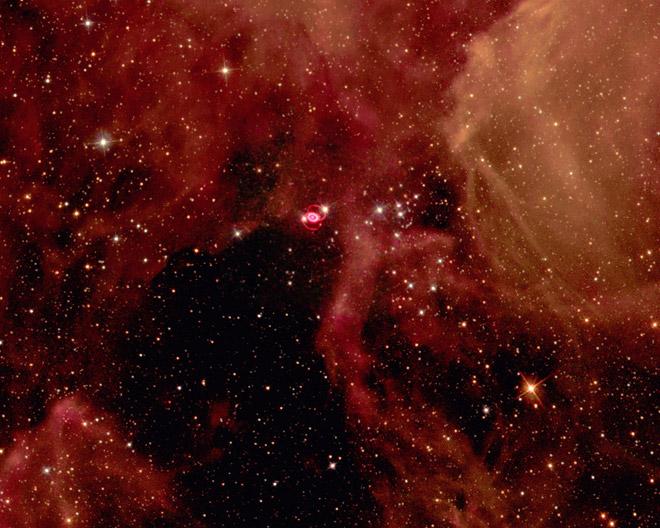 """Cosmic neutrinos originating from Supernova explosion"""