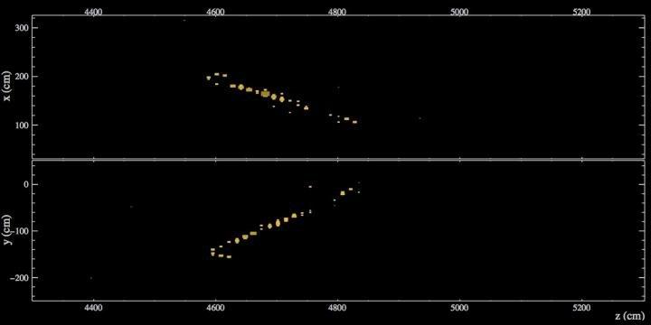 """NOvA neutrino Fermilab 500 mile shot results oscillation"""