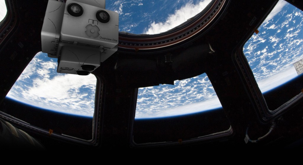 """""""SpaceVR astronaut Earth space from ISS virtual reality"""""""