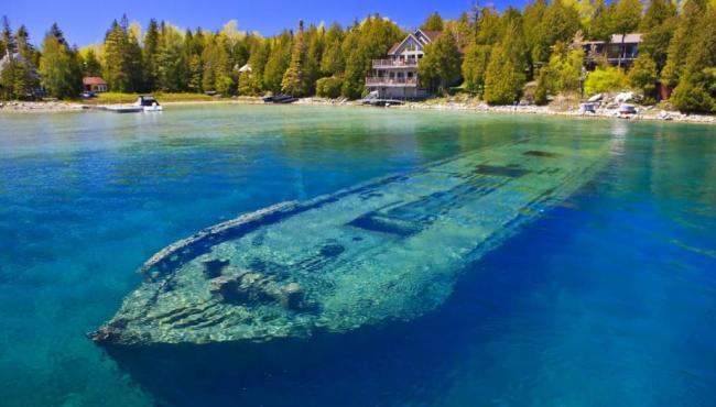 """3D images of Lake Huron shipwrecks"""