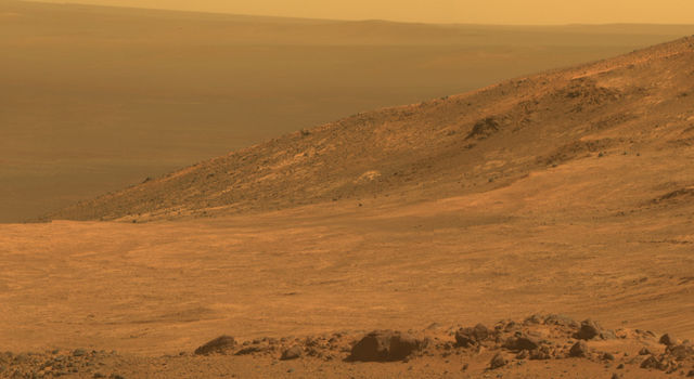 """""""opportunity is preparing for winter on the red planet"""""""