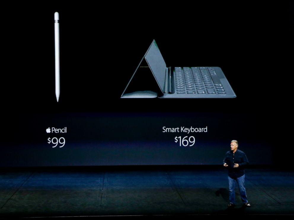 """alt=""""CEO Tim Cook Announces Apple Pencil"""""""