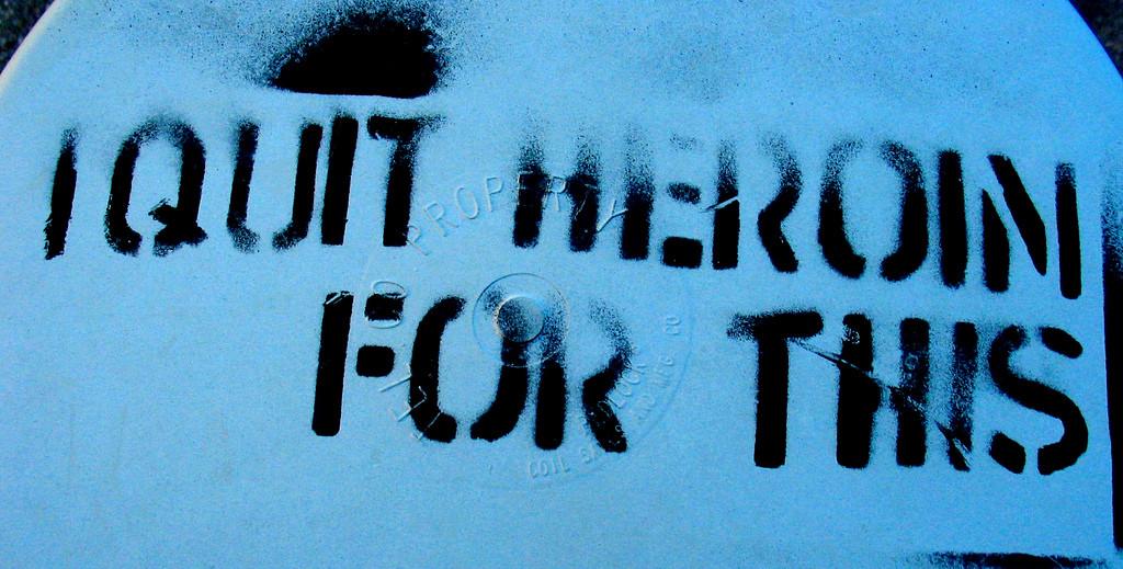 """""""heroin grafitti"""""""