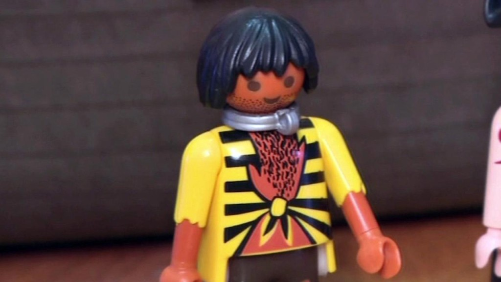 """""""Playmobil's pirate slave toy"""""""