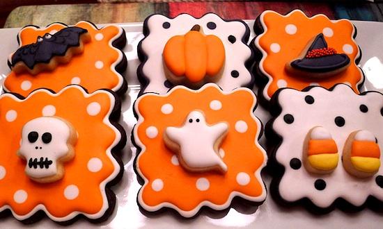 """""""halloween inspired cookies"""""""
