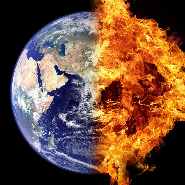 """""""Average global temperatures have just reached an all-time high."""""""
