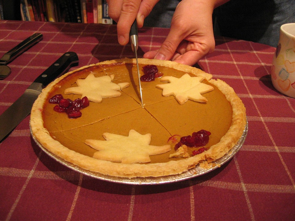 """""""Thanksgiving can often mean gaining a few extra pounds."""""""