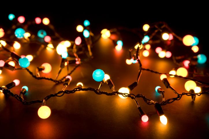 "alt=""Glowing lights in the dark"""