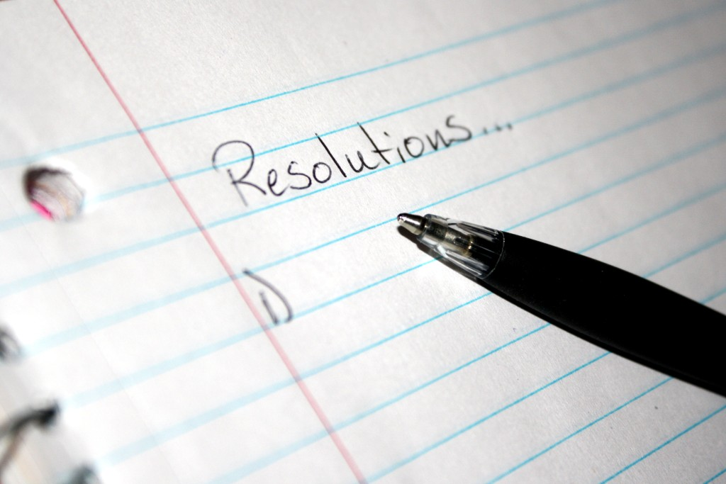 """""""new year resolutions"""""""