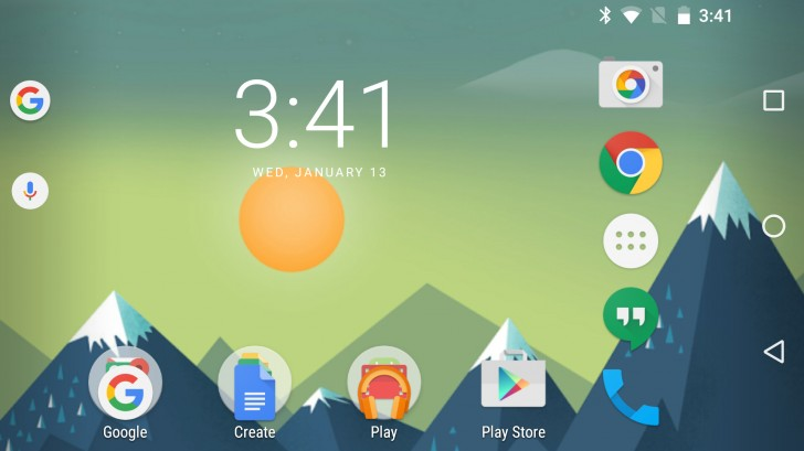 android lanscape