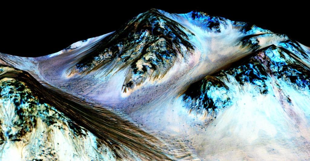 water on mars nasa