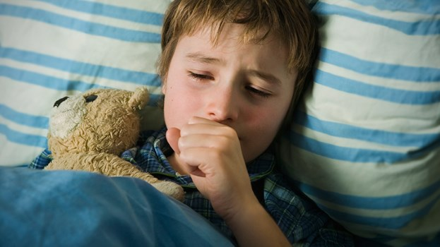 kids coughing