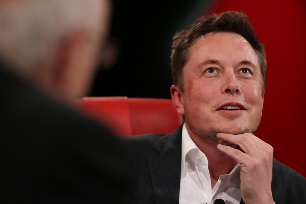 alt= Elon Musk at Recode's Code Conference, 2016