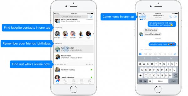 alt= Facebook Messenger app update