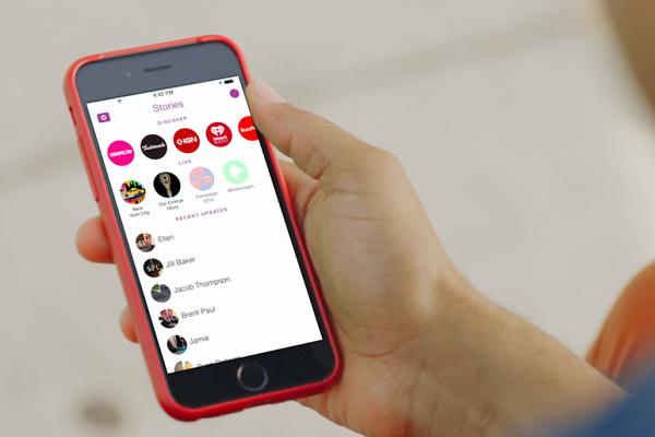 alt= Snapchat app