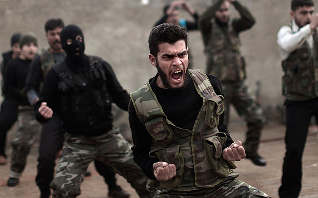 alt= Syrian civil war
