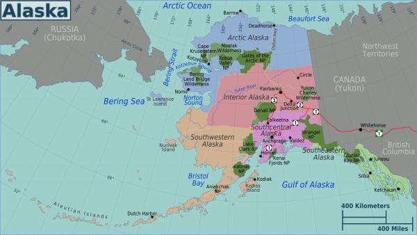 new high resolution maps of Alaska