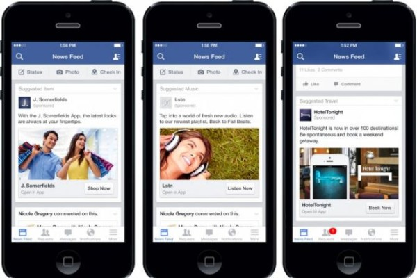Small businesses are helped by Facebook ads