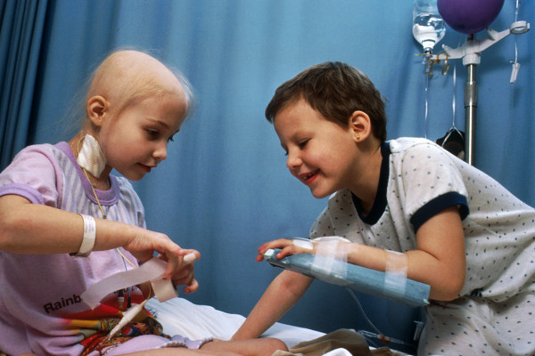 parents sharing their stories of childhood cancer