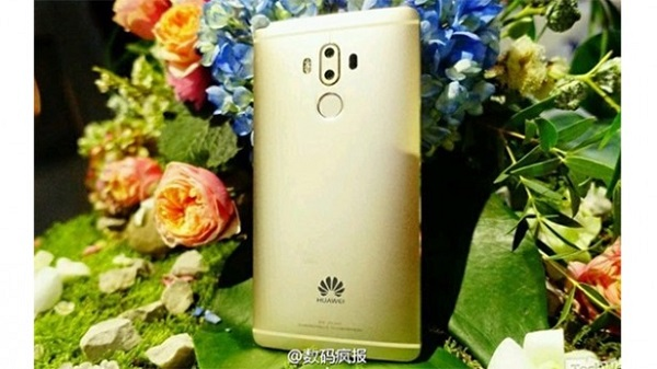 back of Huawei mate nine