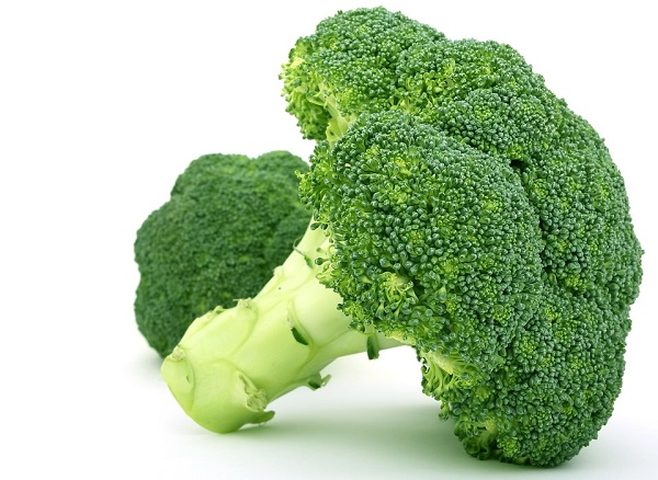 broccoli with a large stem