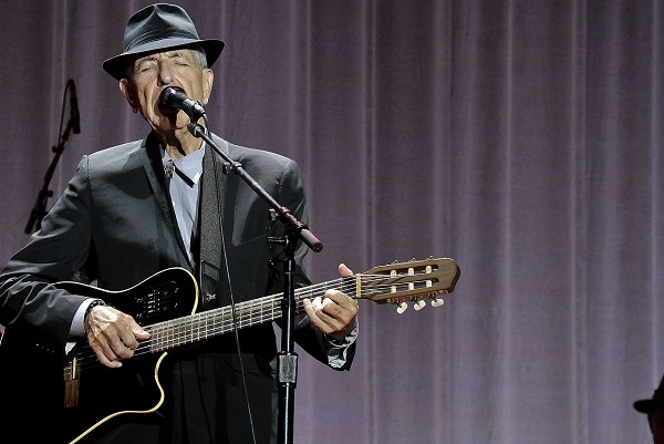 Leonard Cohen passed away on Monday