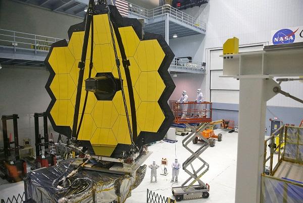 webb telescope mirror