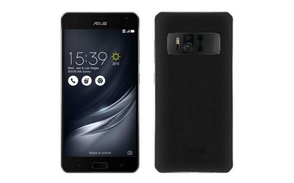 black Asus ZenFone AR