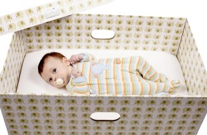 baby box with child