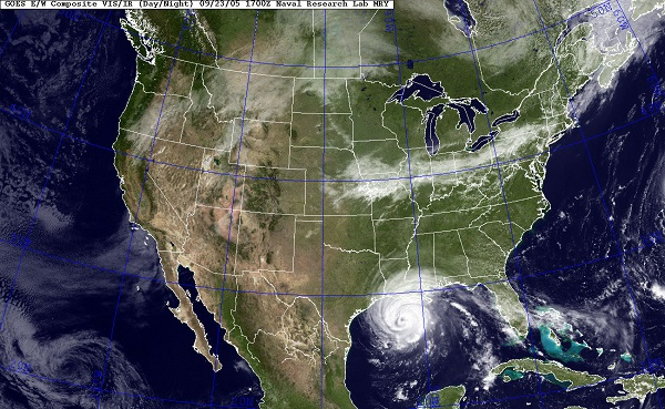 hurricane research map