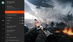 Beam streaming app in battlefield 1