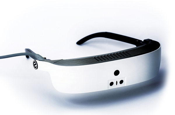 Esight High Tech Glasses Allows Blind People To See Utah