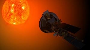 Solar probe near the sun