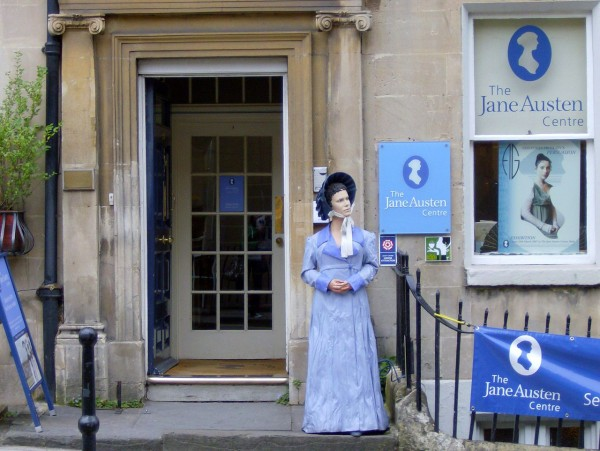 entrance of the Jane Austen center