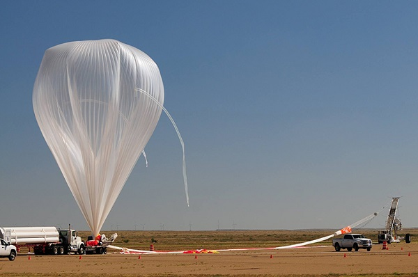 nasa super pressure balloon