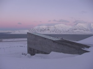 doomsday vault entrance structure