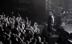 Decapitated playing a show in Krakow, Poland