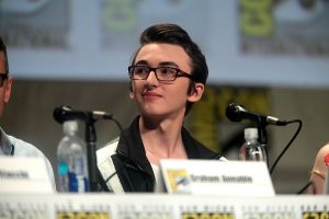 Isaac Hempstead-Wright at Comic Con in 2014