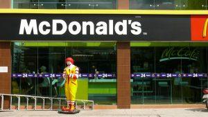 McDonald's restaurant front