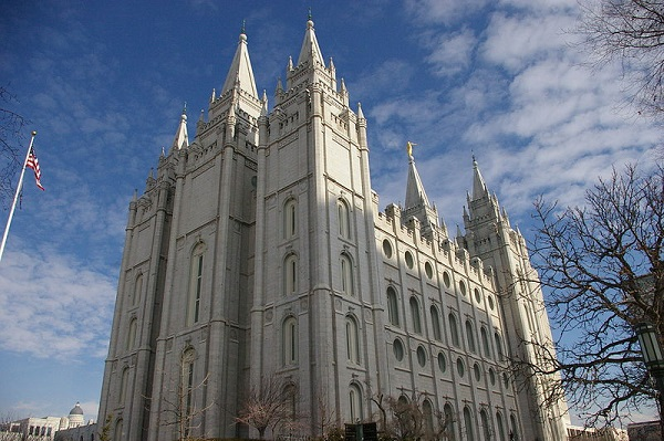 Mormon Temple in Utah