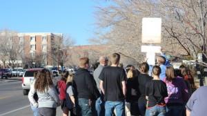 Southern Utah Youth install 110 'no smoking' signs at St. George bus stops