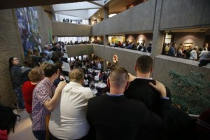 Utah Attorney asks officials to complete paperwork on gay marriages