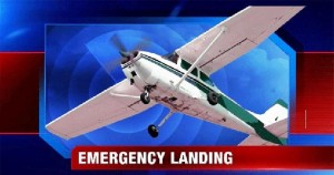 Plane made emergency landing in field after engine fails