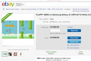 Flappy Bird Phones Cannot be Sold on eBay