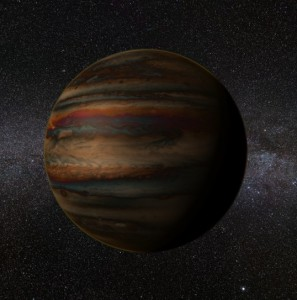 Scientists discover water on Jupiter-sized exoplanet