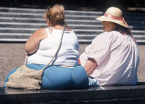 Lack of exercise, not Caloric intake to be blamed for Obesity in US