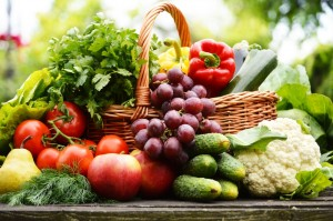Eat fresh fruits and vegetables to lower your death risk